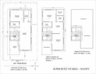 1810 sqft, 3 bhk Villa in Metro Satellite City Phase I Phulnakhara, Bhubaneswar at Rs. 54.0000 Lacs
