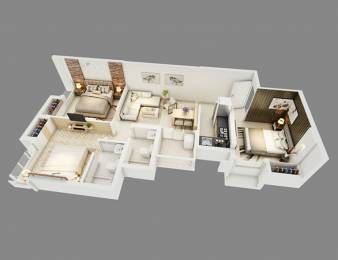 1040 sqft, 3 bhk Apartment in Alcove New Kolkata Serampore, Kolkata at Rs. 27.5600 Lacs