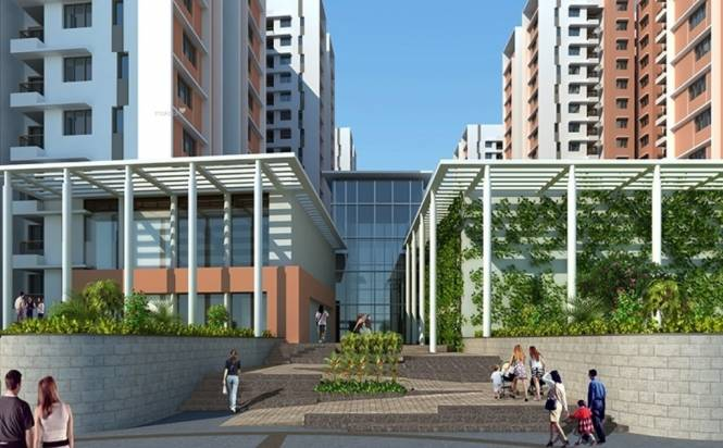 1230 sqft, 3 bhk Apartment in Mantri Energia Thanisandra, Bangalore at Rs. 78.5900 Lacs