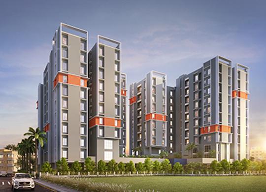 1337 sqft, 3 bhk Apartment in Salarpuria Amarana Residences Tangra, Kolkata at Rs. 62.5048 Lacs