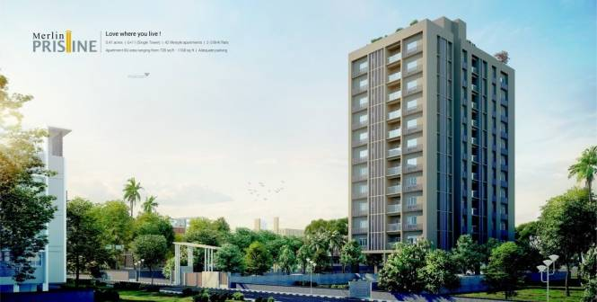 736 sqft, 2 bhk Apartment in Merlin Pristine New Alipore, Kolkata at Rs. 39.7440 Lacs