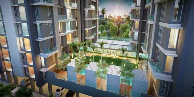 1340 sqft, 2 bhk Apartment in Merlin Verve Tollygunge, Kolkata at Rs. 73.7000 Lacs