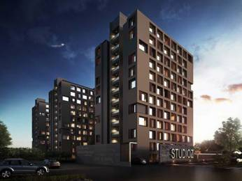 640 sqft, 1 bhk Apartment in Savvy Studioz Gota, Ahmedabad at Rs. 19.7760 Lacs