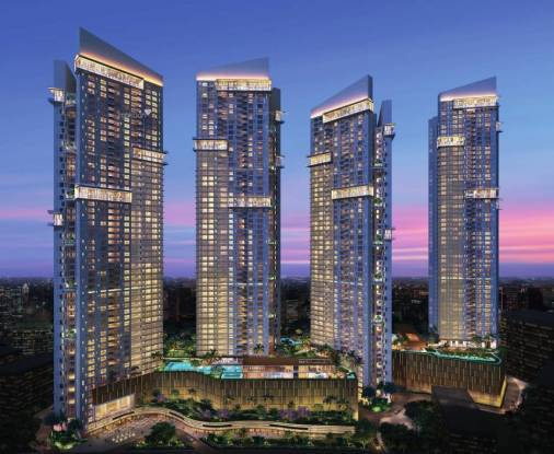 1046 sqft, 2 bhk Apartment in Sheth Auris Serenity Tower 1 Malad West, Mumbai at Rs. 2.5000 Cr