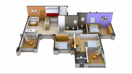 1500 sqft, 3 bhk Apartment in Magnus Manjri Greens 5 Manjari, Pune at Rs. 1.0000 Cr