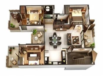 720 sqft, 3 bhk Apartment in Builder Joyville Virar West Virar West, Mumbai at Rs. 60.3345 Lacs