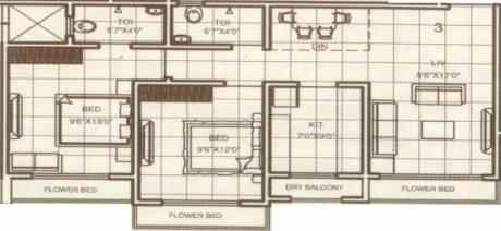 1070 sqft, 2 bhk Apartment in Builder Ramvan Vasai Road East Vasai Road east, Mumbai at Rs. 50.0000 Lacs