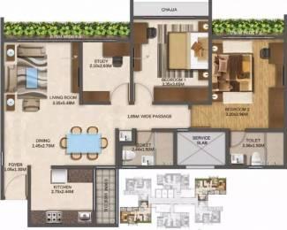 933 sqft, 2 bhk Apartment in Wadhwa Elite Thane West, Mumbai at Rs. 27000