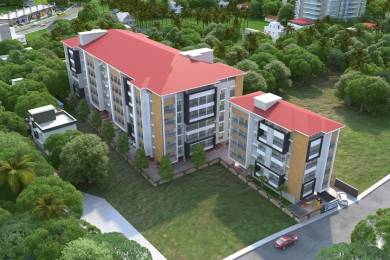 715 sqft, 1 bhk Apartment in Builder Nirmaan Homes Mathura Derebail, Mangalore at Rs. 27.0000 Lacs