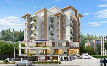 530 sqft, 1 bhk Apartment in Builder Nirmaan Homes Dvaraka Enclave Derebail, Mangalore at Rs. 20.8400 Lacs