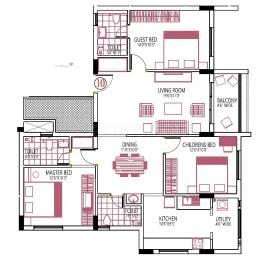 1550 sqft, 3 bhk Apartment in Builder Nandadeep Urwa Marigudi Road, Mangalore at Rs. 71.0000 Lacs