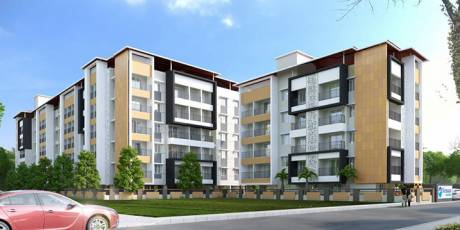 635 sqft, 1 bhk Apartment in Builder Nirmaan Homes Mathura Derebail, Mangalore at Rs. 24.0000 Lacs
