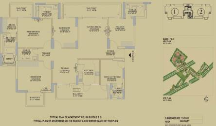 2606 sqft, 4 bhk Apartment in DLF The Primus Sector 82A, Gurgaon at Rs. 1.9500 Cr