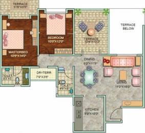 1082 sqft, 2 bhk Apartment in Pristine Fontana Bavdhan, Pune at Rs. 78.0000 Lacs