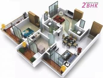 1061 sqft, 2 bhk Apartment in GBK Vishwajeet Meadows Ambernath East, Mumbai at Rs. 7500