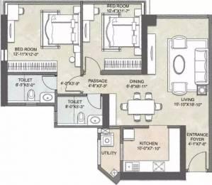 1347 sqft, 2 bhk Apartment in Kalpataru Crest Bhandup West, Mumbai at Rs. 1.9000 Cr