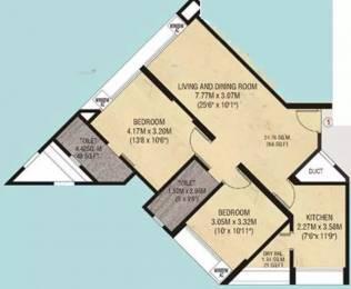 975 sqft, 2 bhk Apartment in Godrej Garden Enclave Vikhroli, Mumbai at Rs. 65000