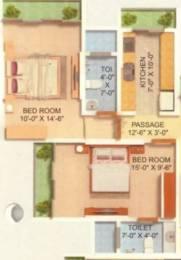 890 sqft, 2 bhk Apartment in Srishti Panch Srishti Powai, Mumbai at Rs. 41000