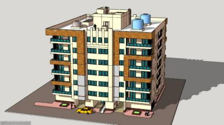 670 sqft, 1 bhk Apartment in Builder xyz ulwe Sector 3, Mumbai at Rs. 55.0000 Lacs