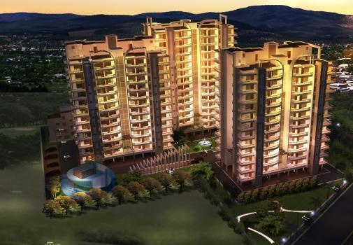 1827 sqft, 3 bhk Apartment in Golden Apartments Dhakoli, Zirakpur at Rs. 56.5000 Lacs
