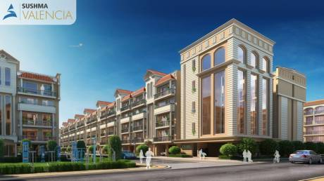 1800 sqft, 3 bhk Apartment in Sushma Valencia Nagla, Zirakpur at Rs. 62.0000 Lacs