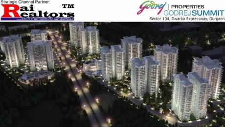 1446 sqft, 2 bhk Apartment in Godrej Summit Sector 104, Gurgaon at Rs. 88.0000 Lacs