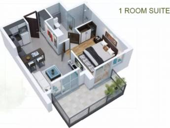 735 sqft, 1 bhk Apartment in Viridian The Longevity Project At Plaza 106 Sector 106, Gurgaon at Rs. 48.0000 Lacs