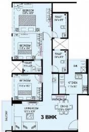 1782 sqft, 3 bhk Apartment in Kanakia Levels Malad East, Mumbai at Rs. 60000