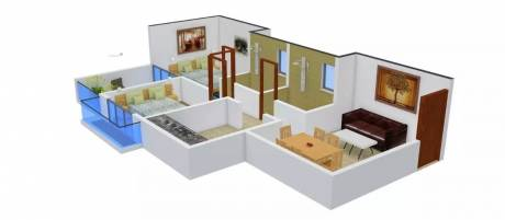 826 sqft, 2 bhk Apartment in Bonzer Celebrations Khopoli, Mumbai at Rs. 7500