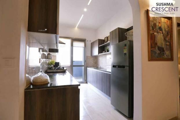 1590 sqft, 3 bhk Apartment in Sushma Crescent Dhakoli, Zirakpur at Rs. 57.0800 Lacs