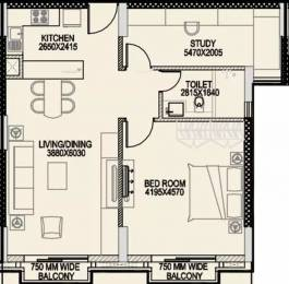 1321 sqft, 1 bhk Apartment in Central Park The Room Sector 48, Gurgaon at Rs. 65000