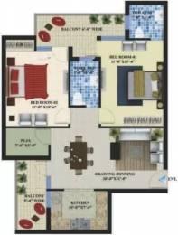 1310 sqft, 2 bhk Apartment in Omni Amayra Greens Kharar, Mohali at Rs. 27.2500 Lacs