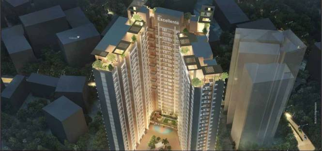 519 sqft, 1 bhk Apartment in  A And O Excellente Mulund West, Mumbai at Rs. 62.0000 Lacs