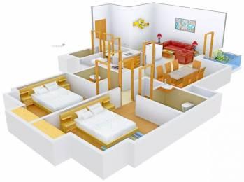 1300 sqft, 2 bhk Apartment in Pioneer Pioneer Park PH 1 Sector 61, Gurgaon at Rs. 1.2500 Cr