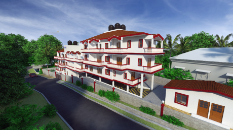 786 sqft, 1 bhk Apartment in Builder MOTHER AGNES and ANARITA RESIDENCY Donwaddo Salvador Do Mundo Bardez, Goa at Rs. 36.8900 Lacs