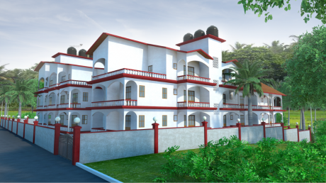1011.8066 sqft, 2 bhk Apartment in Builder Mother Agnes Hill Top Residdency Aldona, Goa at Rs. 49.4500 Lacs