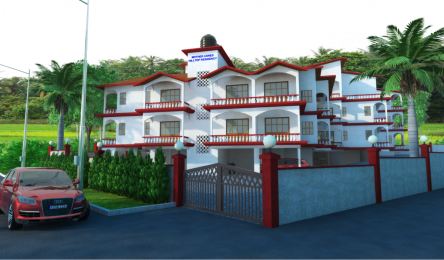 1000 sqft, 2 bhk Apartment in Builder Mother Agnes Hill Top Residency Aldona, Goa at Rs. 48.9034 Lacs