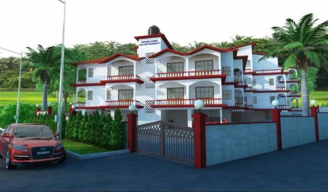 1009 sqft, 2 bhk Apartment in Builder Mother Agnes Hill Top Residency Aldona, Goa at Rs. 49.0914 Lacs
