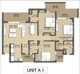 1885 sqft, 3 bhk Apartment in Builder Sushma Chandigarh Grande Zirakpur punjab, Chandigarh at Rs. 75.6500 Lacs