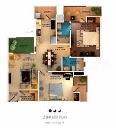 1310 sqft, 2 bhk Apartment in Builder sushma crescent Zirakpur punjab, Chandigarh at Rs. 46.5000 Lacs