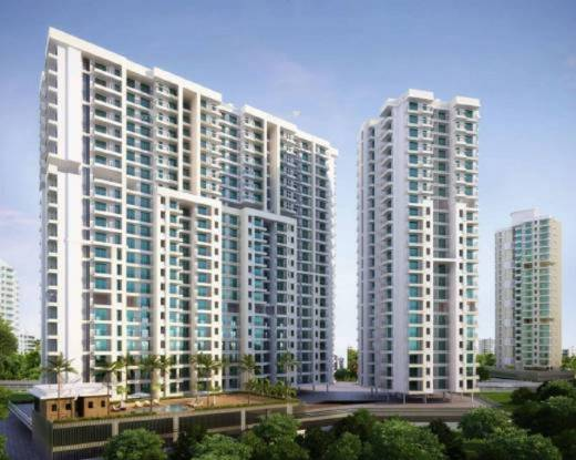 1060 sqft, 2 bhk Apartment in Kanungo Pinnacolo Mira Road East, Mumbai at Rs. 93.2800 Lacs