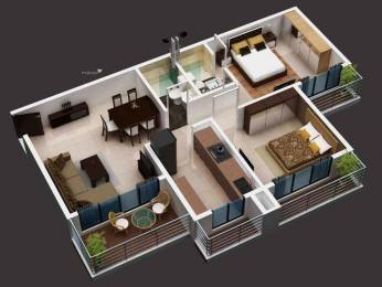 1160 sqft, 2 bhk Apartment in Builder Project Belapur, Mumbai at Rs. 1.2500 Cr