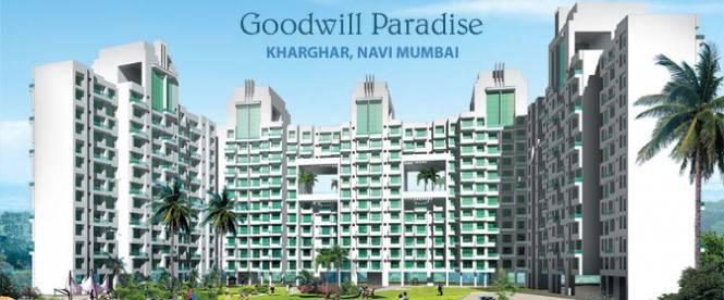 1255 sqft, 2 bhk Apartment in Goodwill Goodwill Paradise Kharghar, Mumbai at Rs. 1.2100 Cr