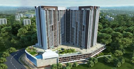 1200 sqft, 2 bhk Apartment in Builder Raj Torres Manpada Manpada, Mumbai at Rs. 1.1800 Cr