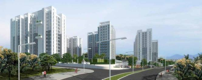 1235 sqft, 3 bhk Apartment in Godrej City Woods Panvel Ph 1 Panvel, Mumbai at Rs. 1.1800 Cr