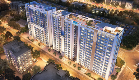 1410 sqft, 3 bhk Apartment in Builder MICL Aaradhya Nine Ghatkopar East Mumbai Ghatkopar East, Mumbai at Rs. 2.4500 Cr