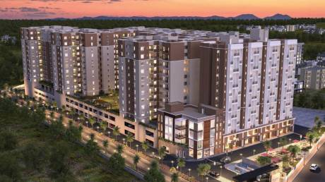 570 sqft, 1 bhk Apartment in Provident Capella 1 Whitefield Hope Farm Junction, Bangalore at Rs. 35.0000 Lacs
