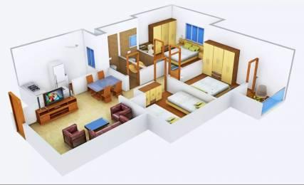 1075 sqft, 3 bhk Apartment in Provident Welworth City Doddaballapur, Bangalore at Rs. 13000