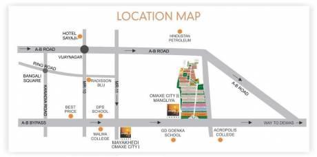 3100 sqft, Plot in Omaxe City 2 Plots Manglia, Indore at Rs. 41.8500 Lacs