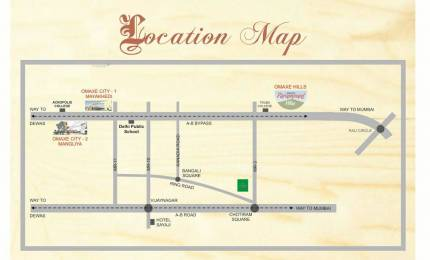 1000 sqft, Plot in Omaxe Anandam Maya Khedi, Indore at Rs. 16.0000 Lacs